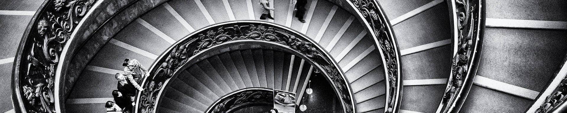 Escadarias em espiral